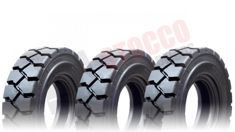 Distribuidor de pneus para empilhadeiras